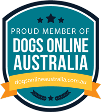 member of dogs online australia badge